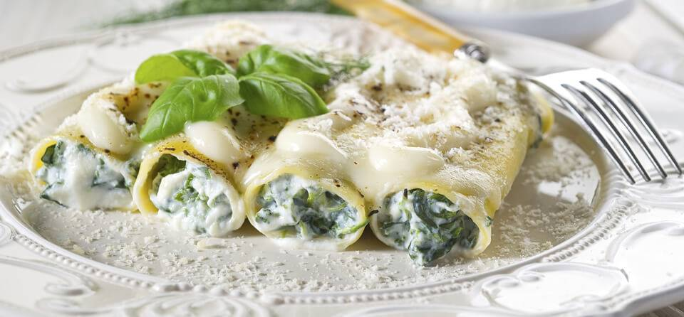Cannelloni - cuisine italienne
