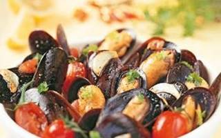 Plat de moules traditionnele