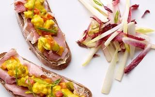 Tartine Pickles-Jambon