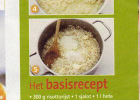 Risotto basis