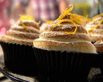 lemon curd mérigue cup cakes