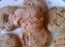 Chocolate chip cookies met speculaaspasta