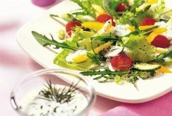 Salade aux fines herbes