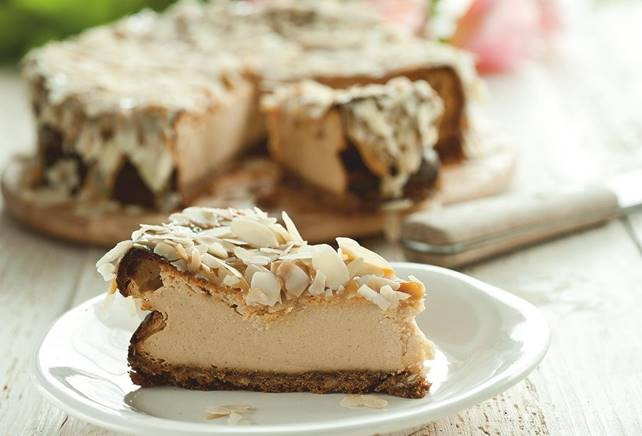 Cheesecake aux caramels mous